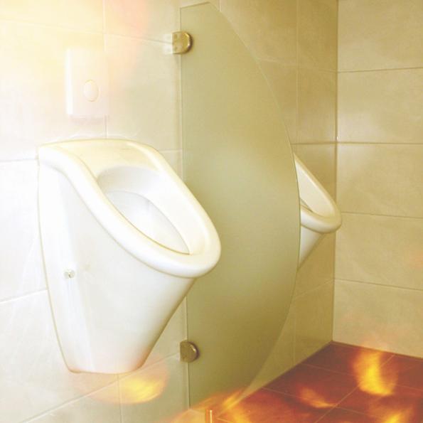 WC Trennwand