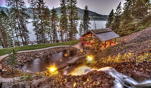 The Falls at Hayden Lake Luxury Homes in North Idaho
