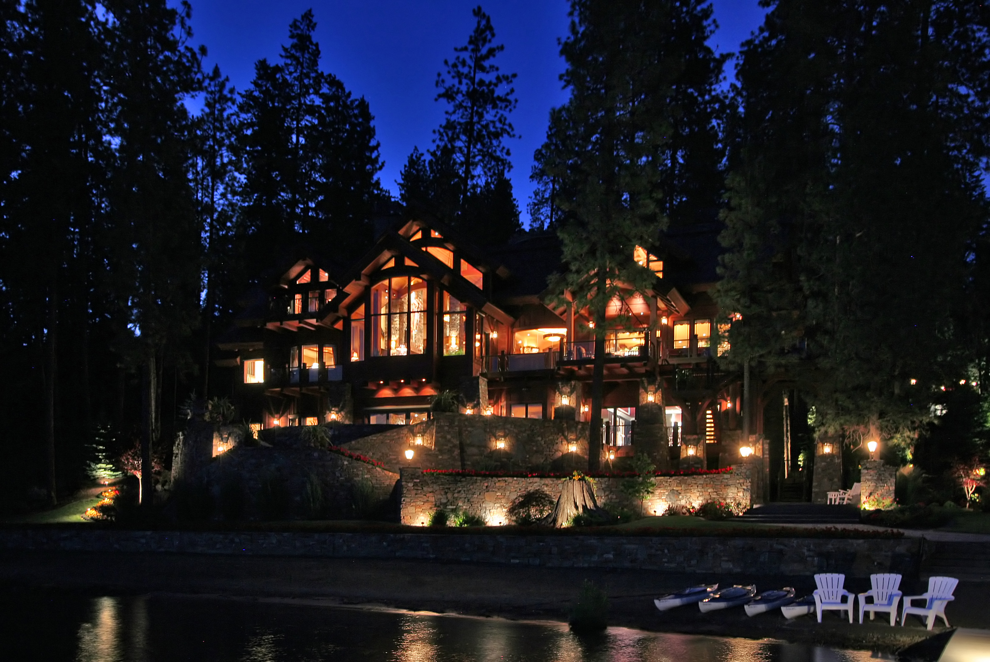 Luxury North Idaho Estate