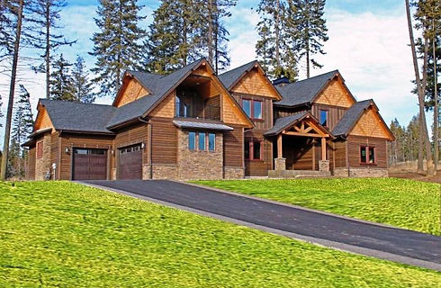 The Falls at Hayden Lake Custom Home