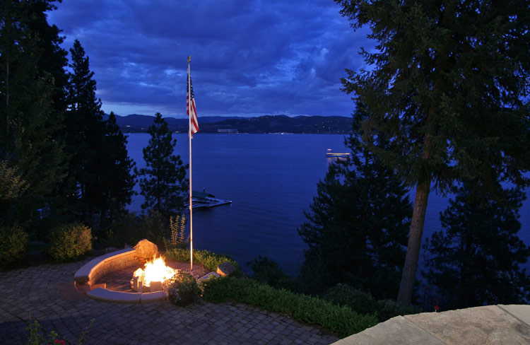 Waterfront in North Idaho