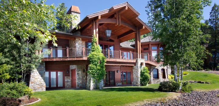 North Idaho Luxury Living at Black Rock