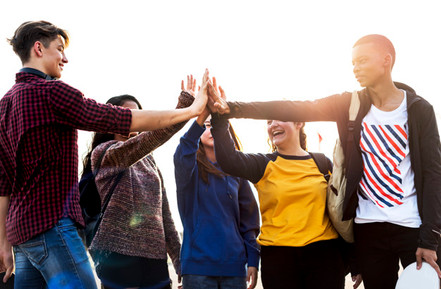 group-friends-all-high-five-together_538