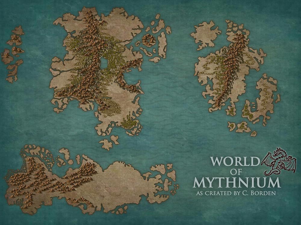 World of Mythnium - Map 1