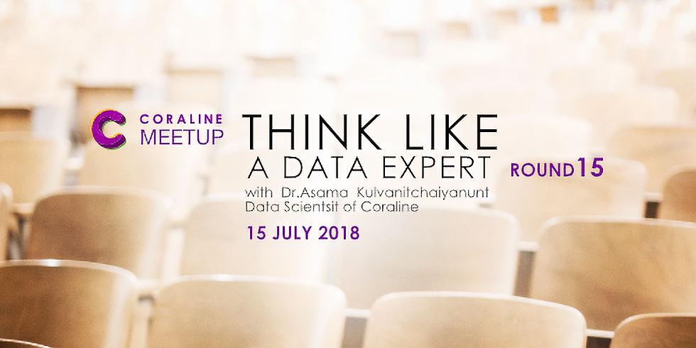 THINK LIKE A DATA EXPERT : ROUND 15 by Coraline