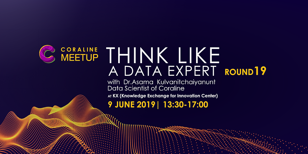 THINK LIKE A DATA EXPERT : ROUND 19 by Coraline
