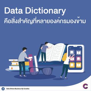 Data Dictionary คือสิ่งสำคัญที่หลายองค์กรมองข้าม