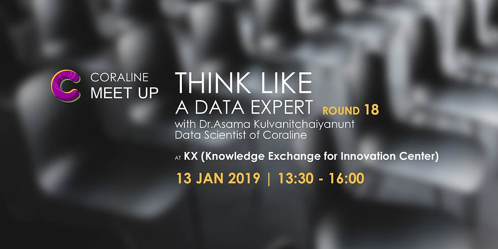 THINK LIKE A DATA EXPERT : ROUND 18 by Coraline