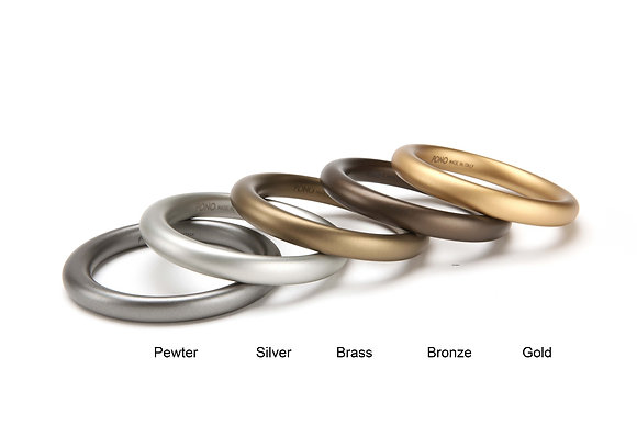 14 Alchemy Elliptical Bangle - Bronze