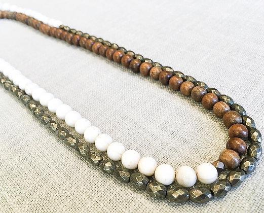 8  Original Colorblock Necklace