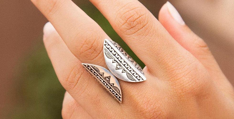 Handmade Silver Window Ring