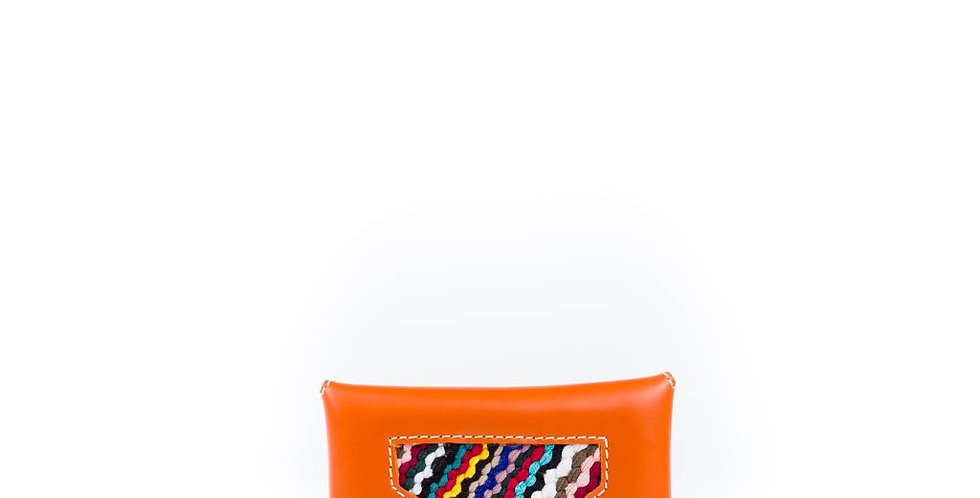 Ltam - Handmade Envelope Wallet with Moroccan Weaving