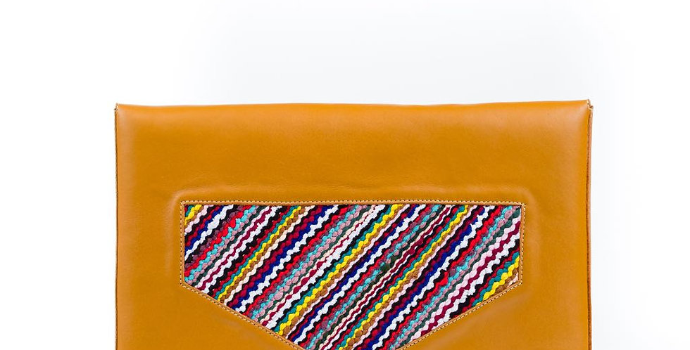 Ltam Ikhoy - Handmade Laptop Pouch with Moroccan Weaving