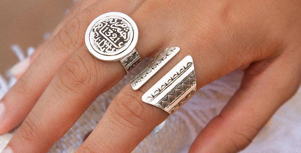 Handmade Silver Portal Ring