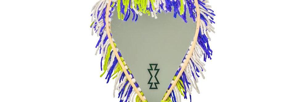 Handmade Berber Mirror - The Warrior