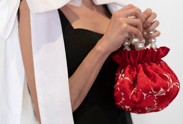 Double-sided Embroidered Luciana Bag