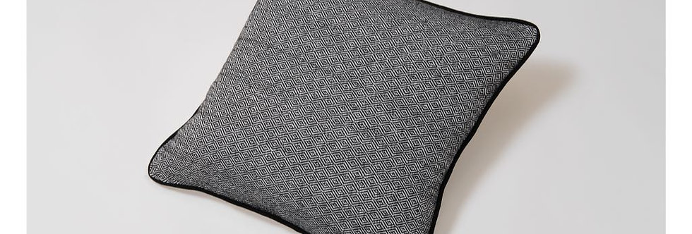 Grey Woven Mexican Pillow - Mysteries of the Night Series