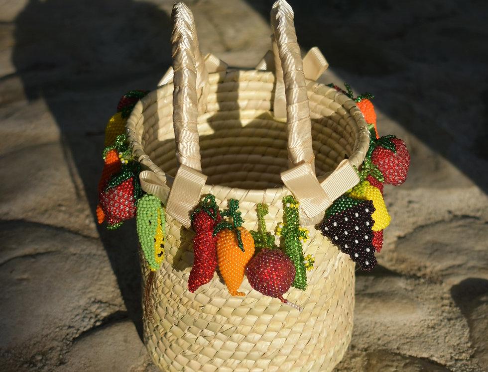 Handmade Chic Carmela Fruit Purse
