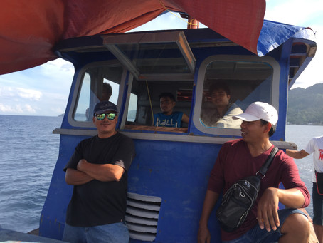 Fishing with the Professional Fishermen in the Deep Seas