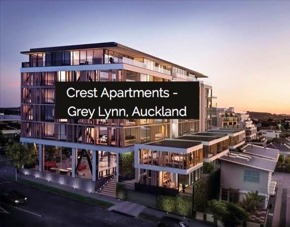 Crest Apartments  |   Auckland NZ