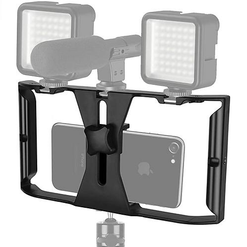 Handheld Smartphone Video Stabilizer With Grip