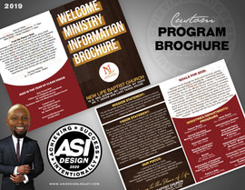 ASI Design - New Life Brochure - Mockup