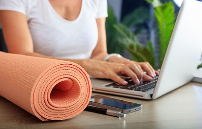 bigstock-Woman-And-An-Exercise-Mat-In-A-
