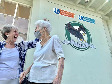ERHS alumni returns to celebrate 96th birthday