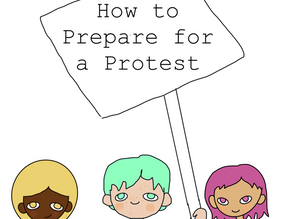 How to prepare for a protest