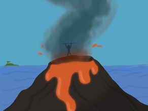 Volcanic sacrifices for carbon offset: pros and cons