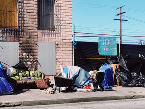 A rise in homeless