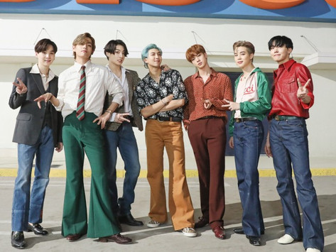 """BTS Brings the Fire With New Single """"Dynamite"""""""