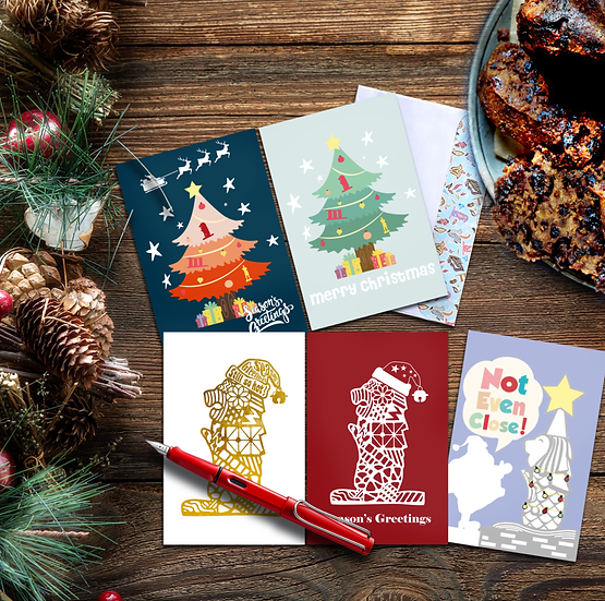 Season's greeting cards B