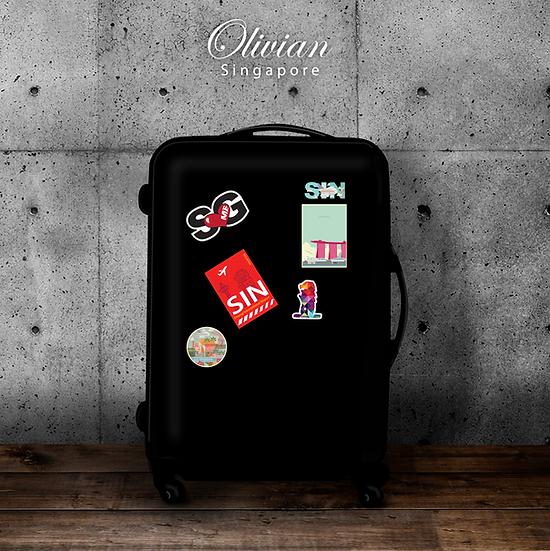 Luggage/Laptop Vinyl stickers