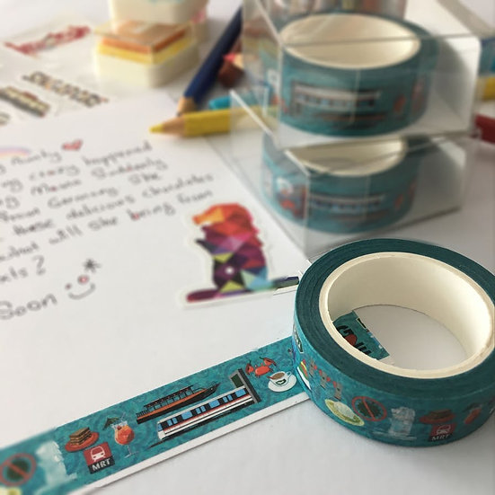 Washi Tape Singapore Icon