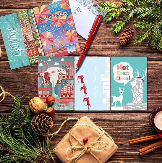 Season's greeting cards A