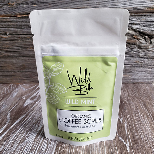 Wild Mint- PEPPERMINT Coffee Scrub