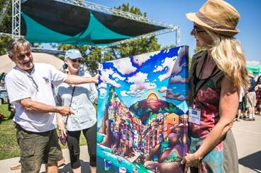ArtWalk @ Liberty Station returns to celebrate 14 years on August 10 and 11
