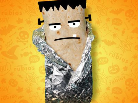 Get Halloween Booritos at Rubio's Coastal Grill - October 31