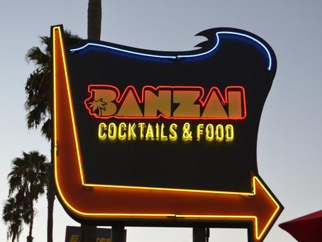 Cheers to Banzai's Grand Opening