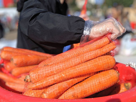 Del Mar Fairgrounds partners with the San Diego Food Bank to provide emergency food distribution for