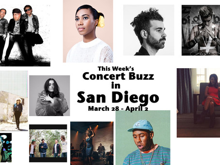 This week's concert buzz, from Tyler the Creator to Geographer and Santigold