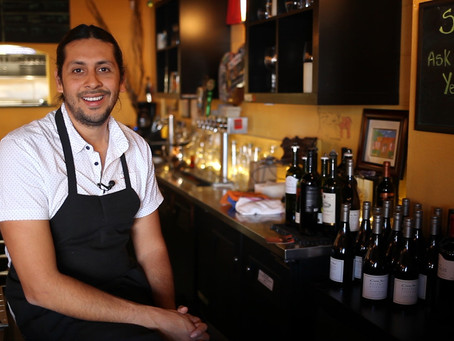 In the Kitchen with owner and chef Oz Blackaller of Cueva  Bar