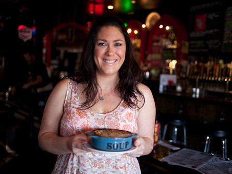 [Video] Owner and chef of Small Bar Karen Barnett shares her French Onion Soup | In the Kitchen