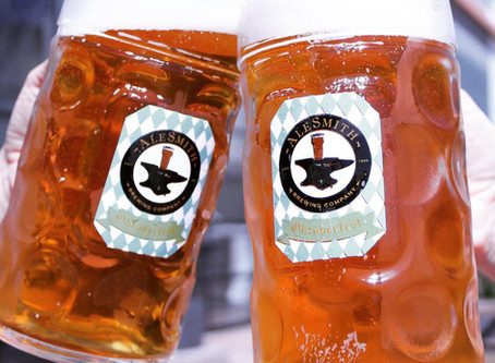 Celebrate Oktoberfest in AleSmith's Biergarten