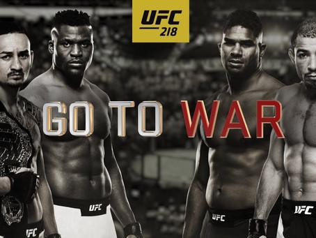 Drunken MMA - Episode 12 - UFC 218