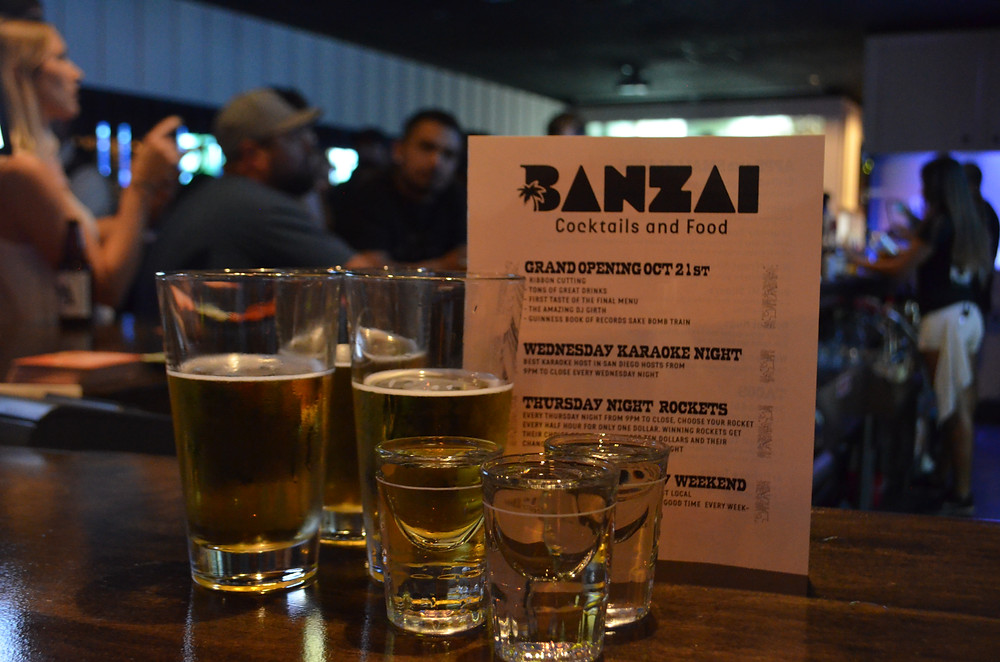 Banzai Cocktails & Food / Maria Wiles