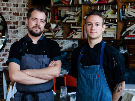 In the Kitchen with Brandon Sloan and Shane Cartularo of Double Standard Kitchenetta