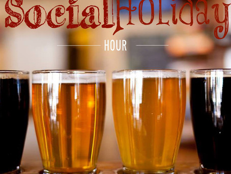 The Social Holiday Hour podcast #11, National Beer Day
