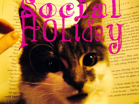 The Social Holiday Hour Podcast #12, Drop Everything And Read (D.E.A.R.)